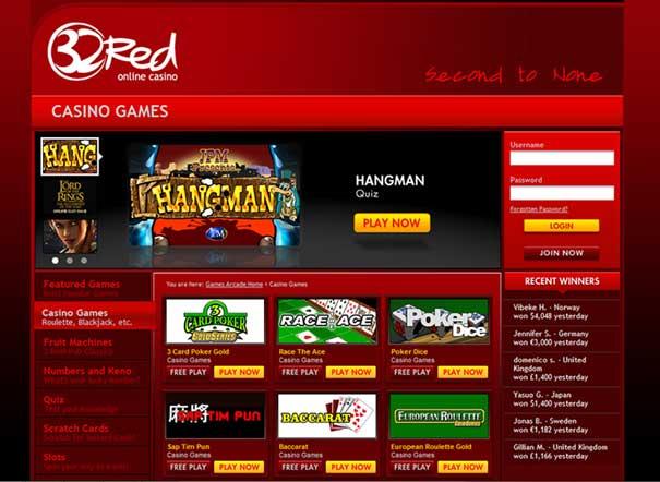 www.32red casino