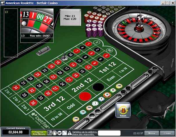 Betfair Com Casino