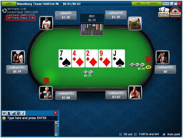william hill online casino poker american