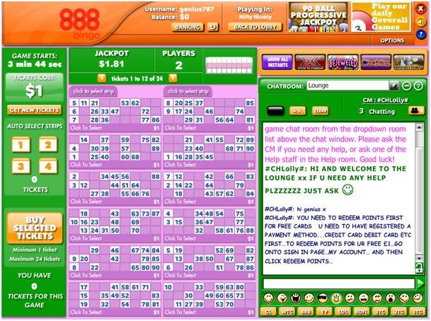Casino 888 Bingo