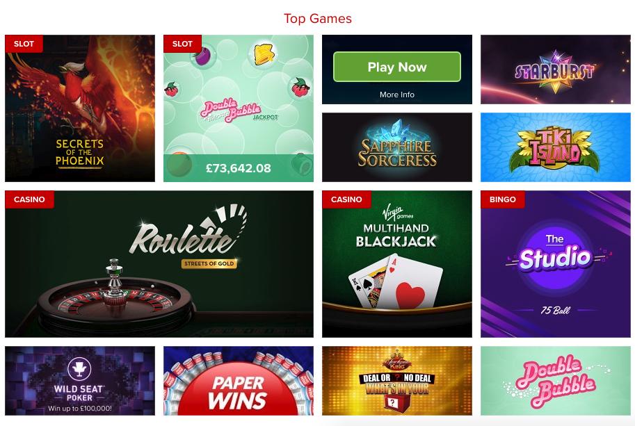 Virgin Games.Com