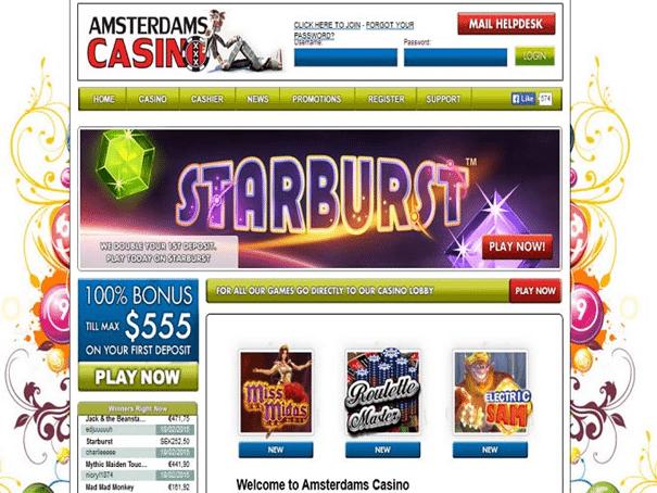 amsterdams casino signup bonus