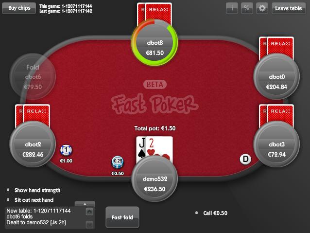 fast-fold-poker