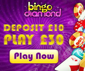 Bingo Diamond Banner