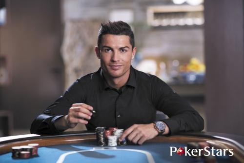Cristiano Ronaldo signs for Team PokerStars