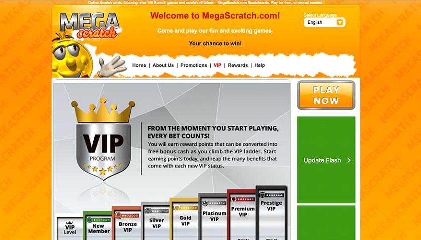 Mega Scratch Casino