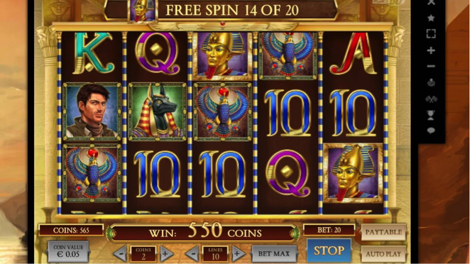 Egyptian Slots Themes Online