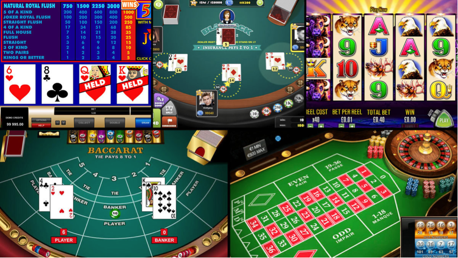 The Benefits of Playing Casino Games